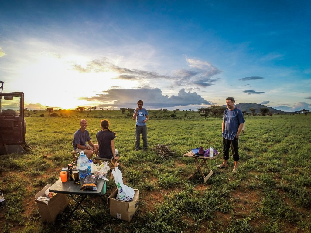MCK members camping near Shaba. Credit: Helen Kinuthia